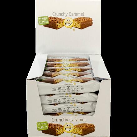EASIS Crunchy Caramel bar 25 stk.