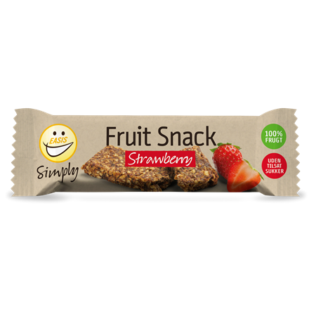 EASIS Simply Fruit Snack strawberry