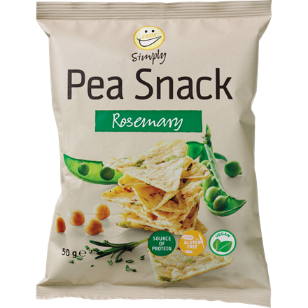 EASIS Simply Pea Snack Rosemary 50g.