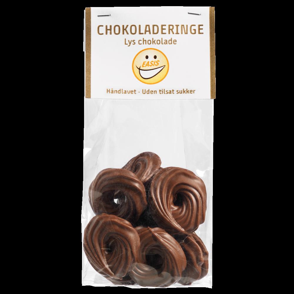 EASIS Chokolade Ringe Lys Chokolade