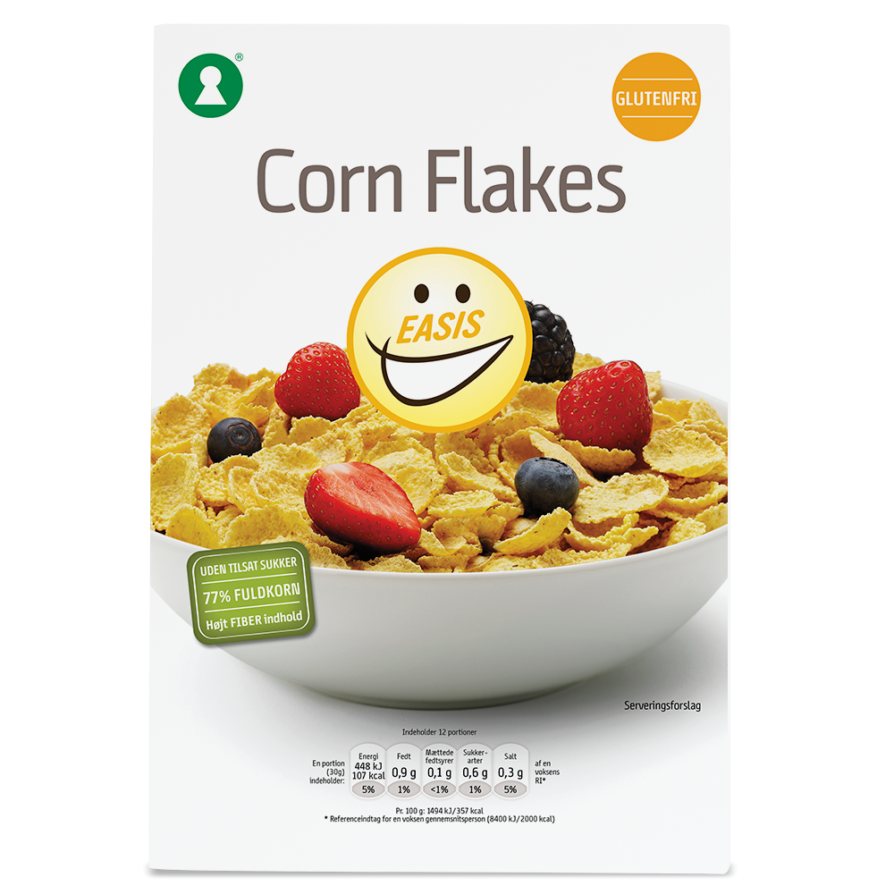 EASIS glutenfri Corn flakes