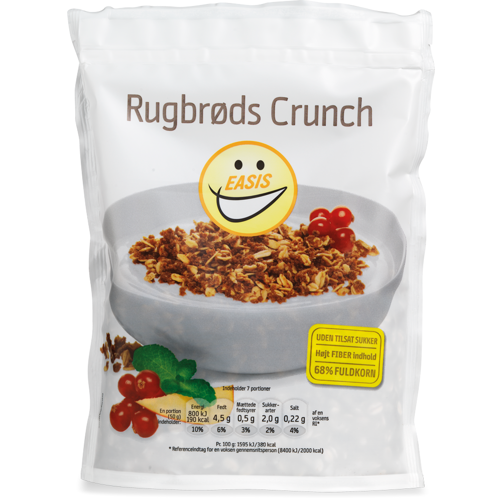 EASIS Rugbrøds Crunch