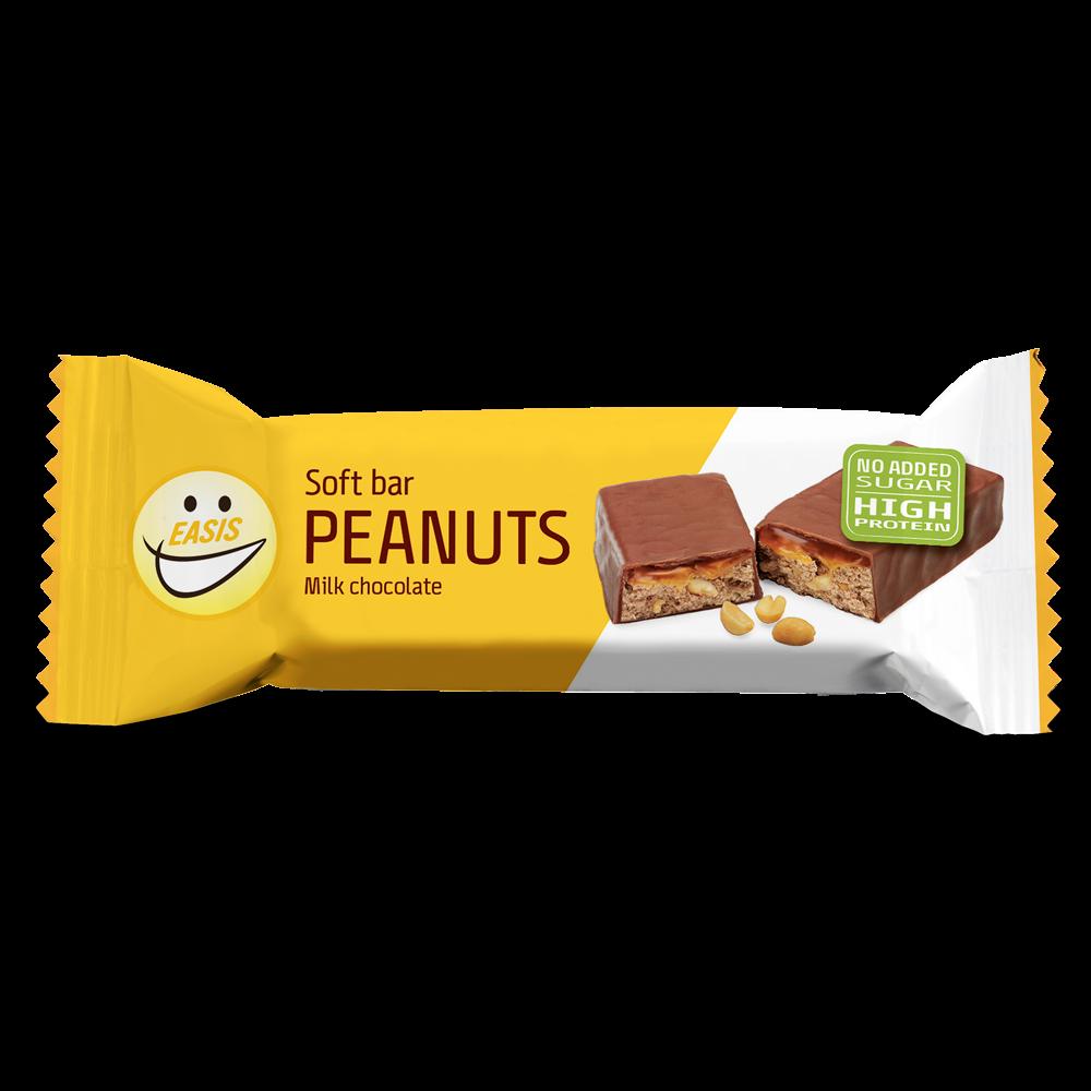 EASIS Free Soft bar Peanuts 24 stk.