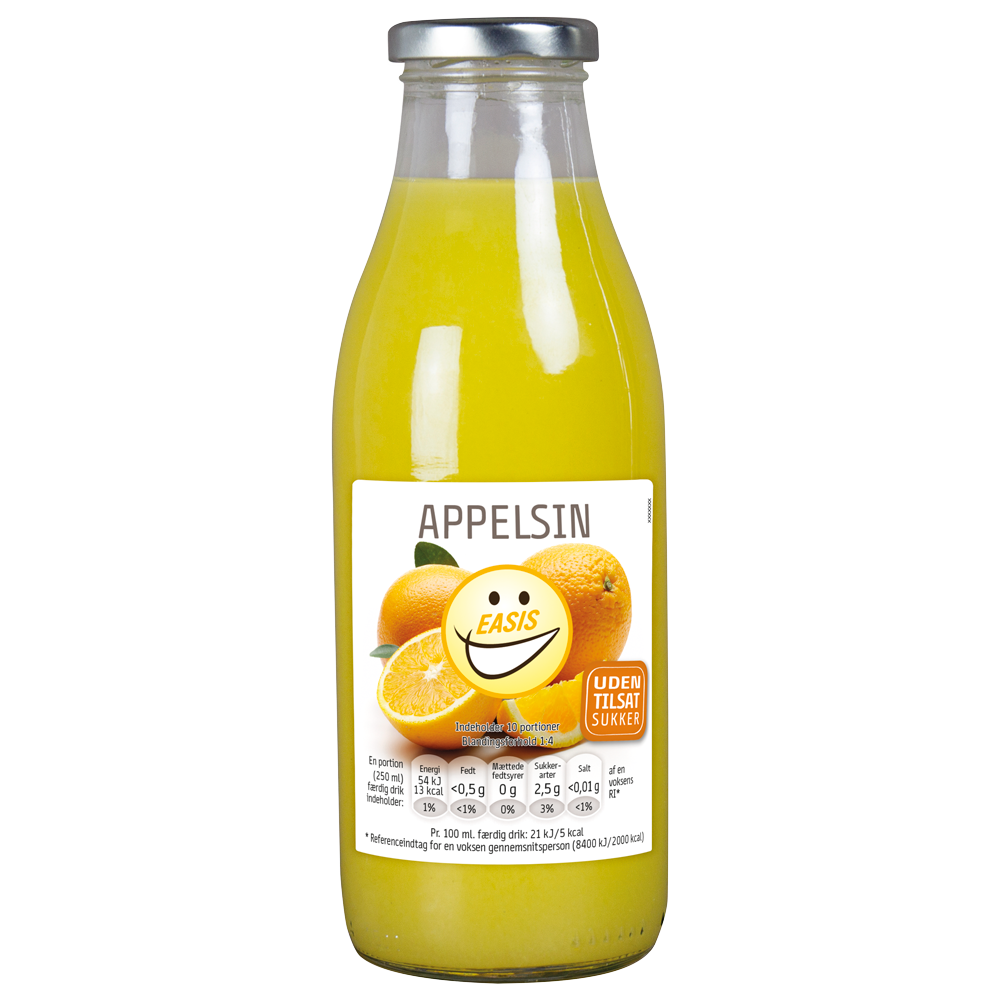 EASIS Appelsin drik 500 ml.