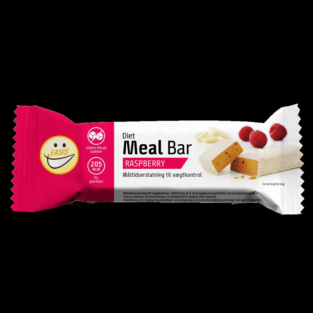 EASIS Diet Meal bar, Hindbær 65g