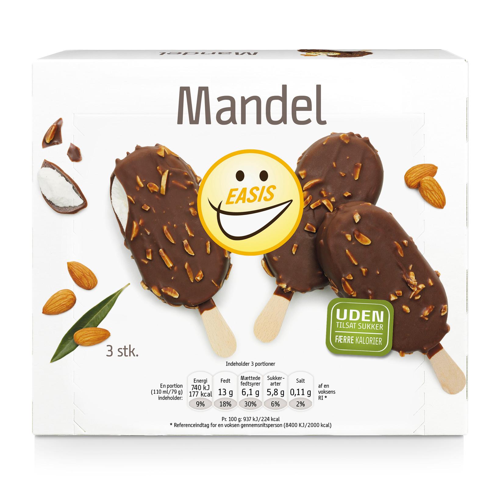 EASIS Mandelis 3 stk.