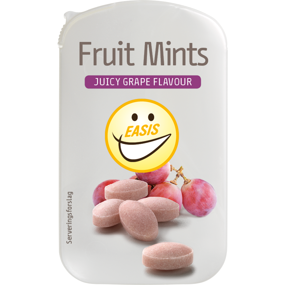 EASIS Fruit Mints Juicy Grape