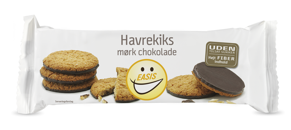 EASIS Oat Biscuit with Dark Chocolate