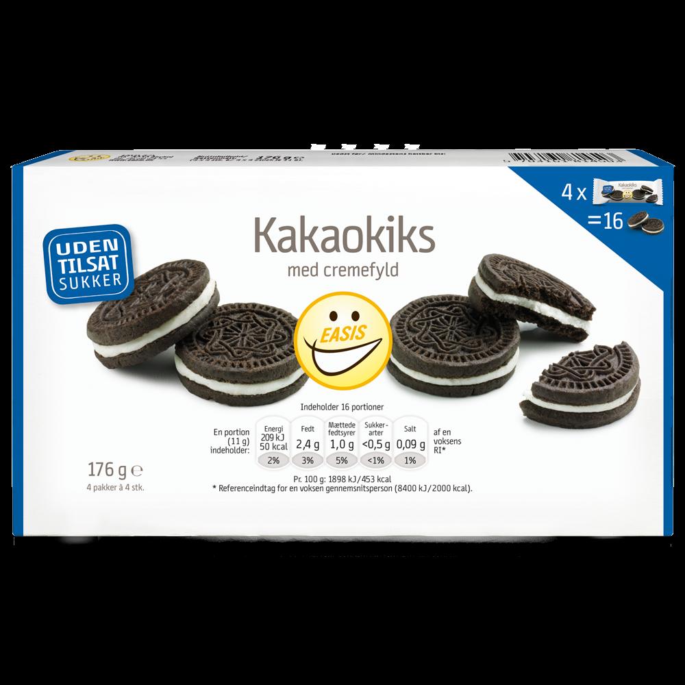 EASIS Kakaokiks med Cremefyld 4 x 4 stk.