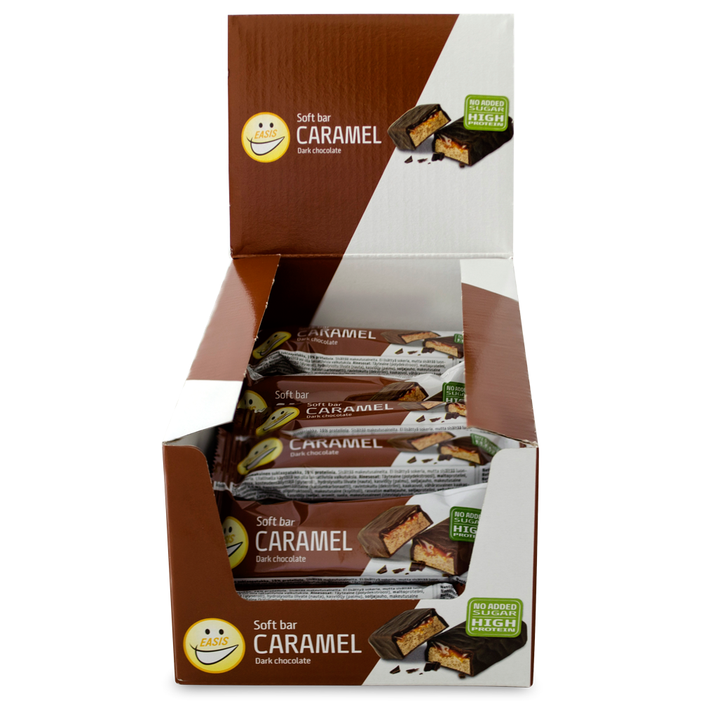 EASIS Soft protein bar - caramel and dark chocolate