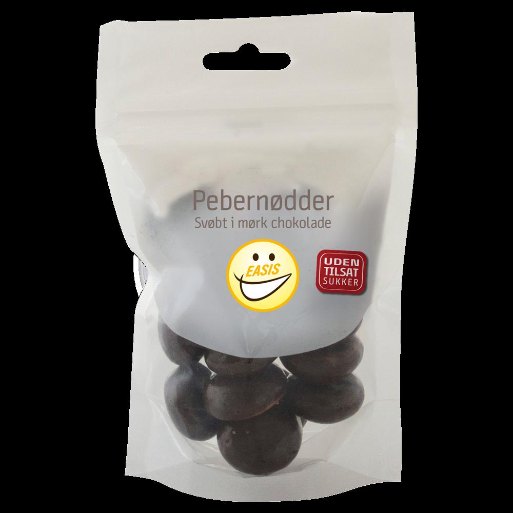 EASIS Pebernødder med mørk chokolade 80 g