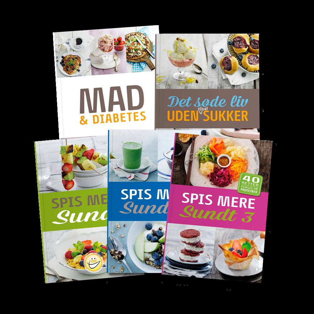 Sampak - Opskriftsbøger