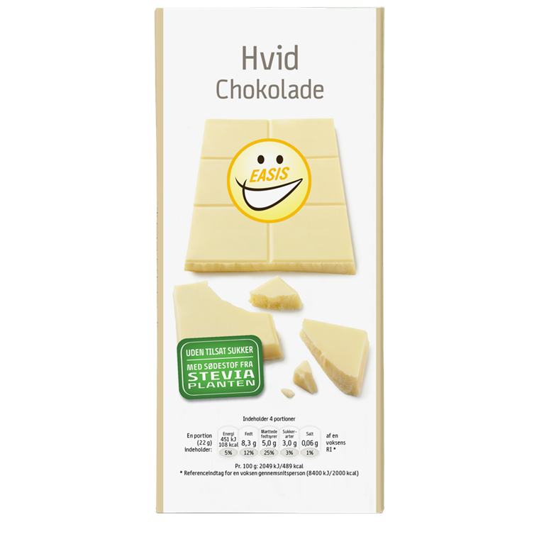 EASIS White Chocolate 85g.