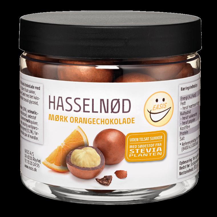 EASIS Hasselnød med mørk orangechokolade