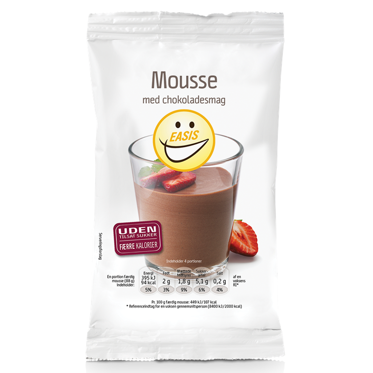 EASIS Mousse with chocolate