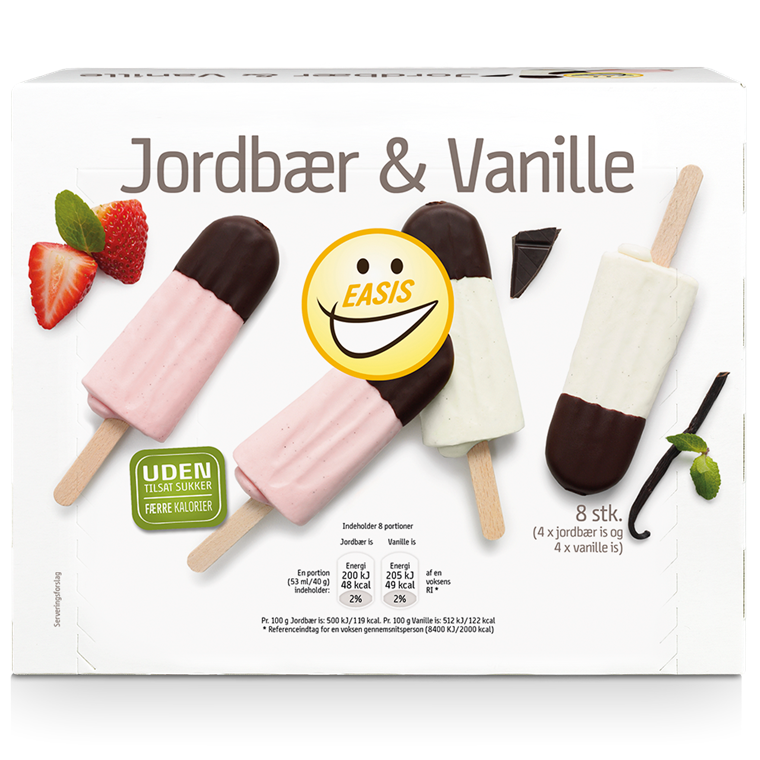 EASIS Ice cream Lollies