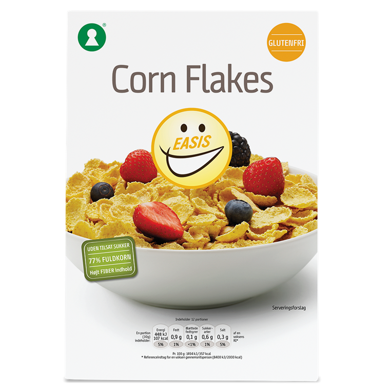 EASIS Glutenfri Corn Flakes  375g