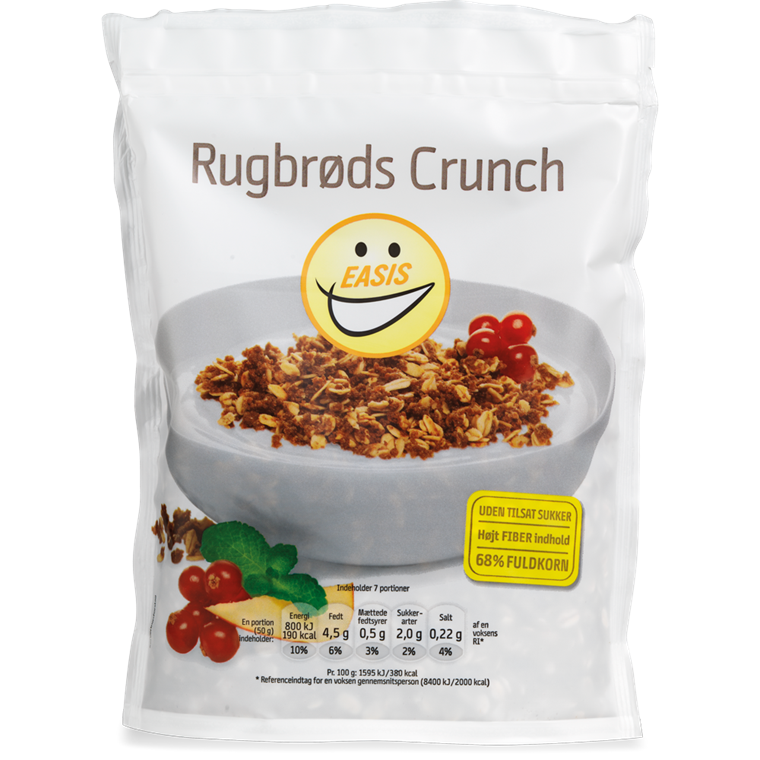 EASIS Rugbrødcrunch 350g