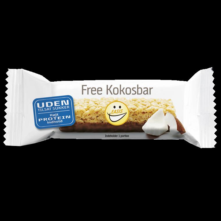 EASIS Free Kokosbar 20 stk.