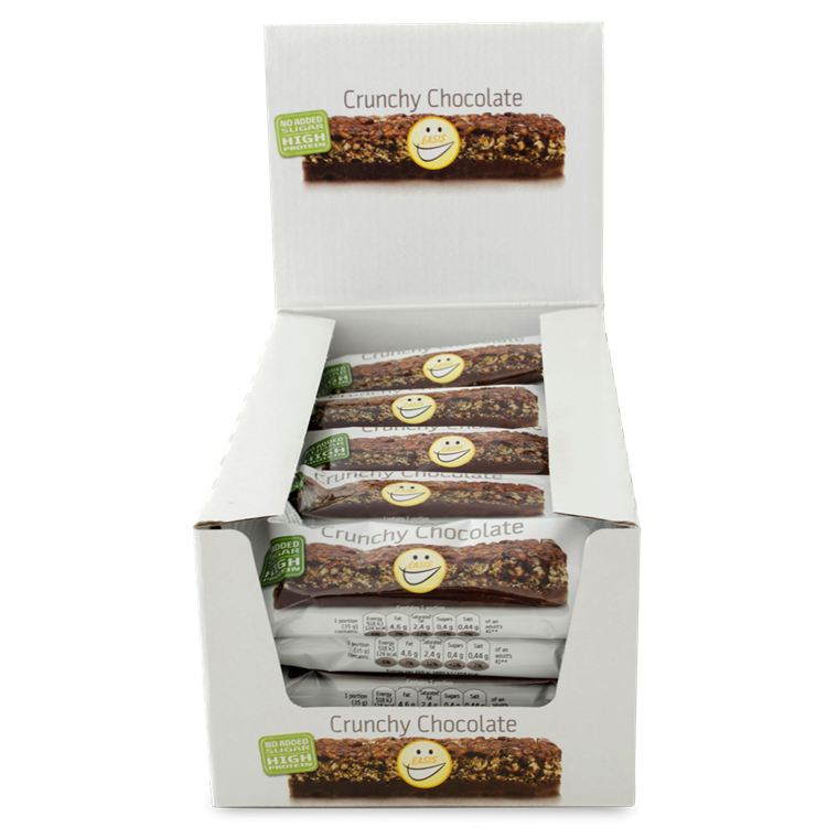 EASIS Crunchy Chocolate bar, 20 stk.