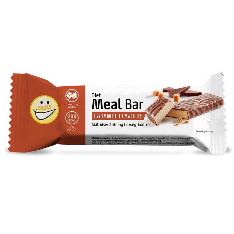 EASIS Diet Meal bar, caramel 65g