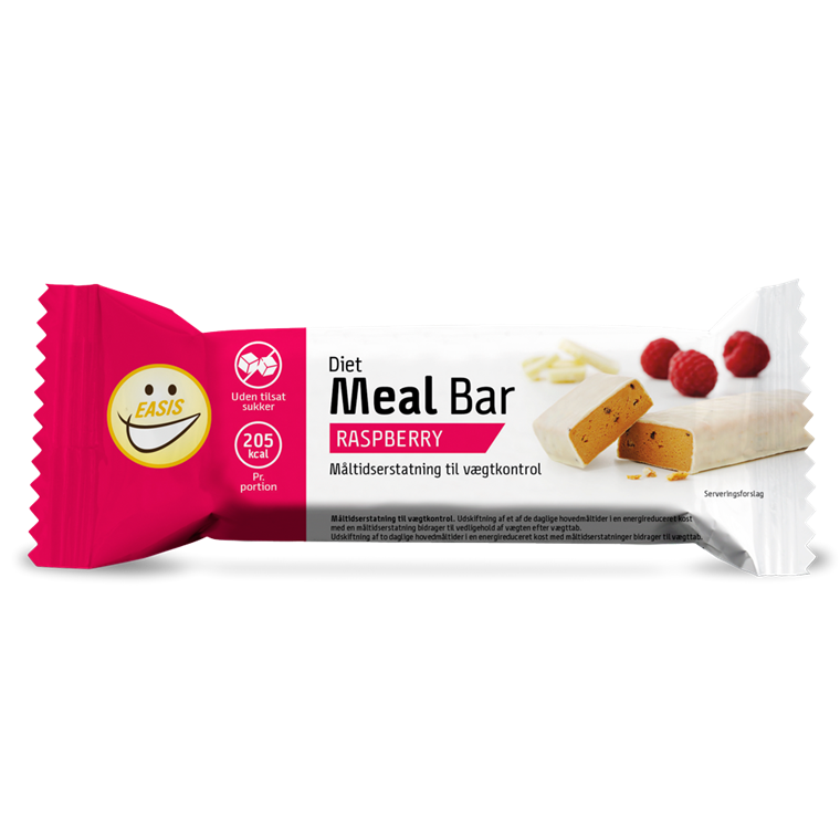 EASIS Diet Meal bar, Hindbær 65g