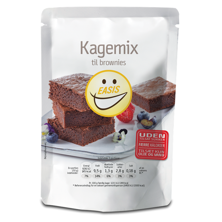 EASIS Kagemix, Brownies