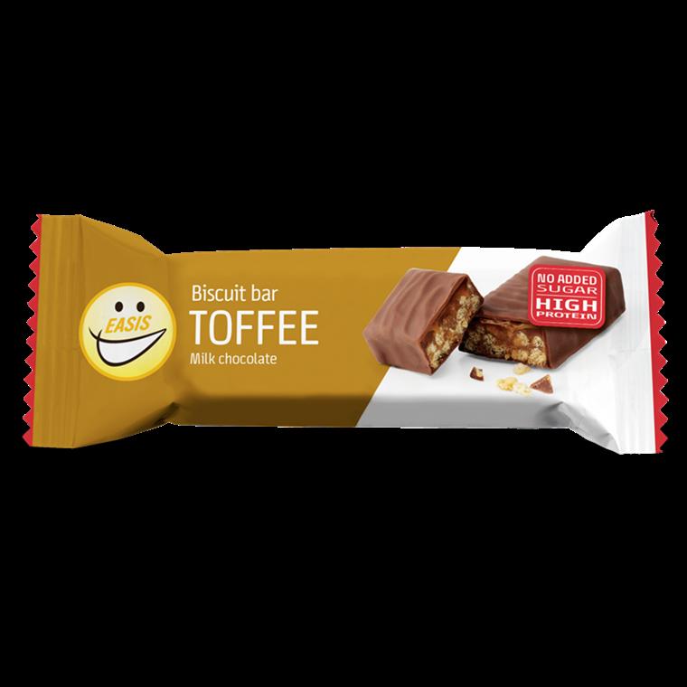 EASIS Biscuit bar Toffee 24 stk.