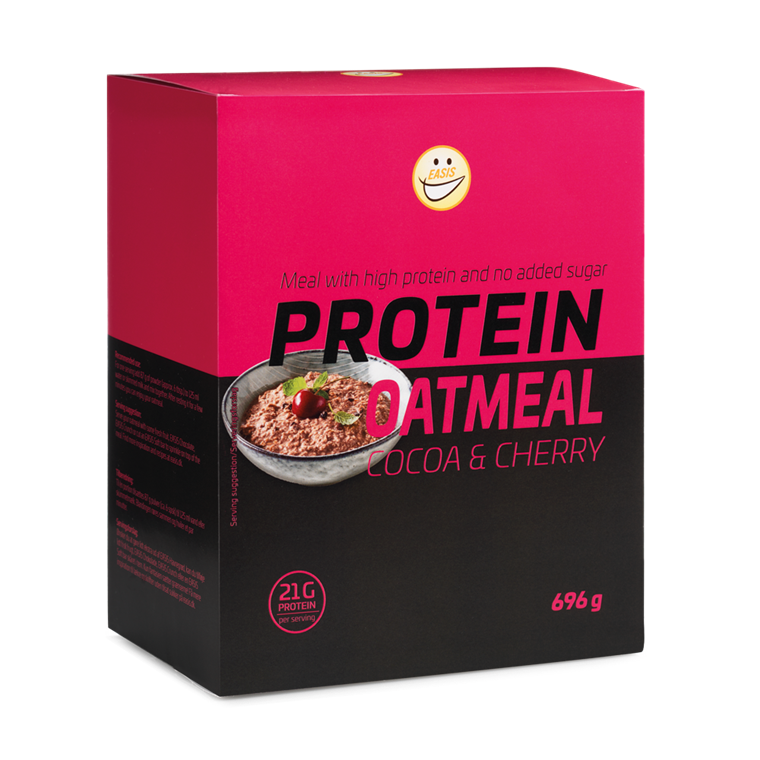 EASIS Protein Oatmeal Cocoa & Cherry 696g