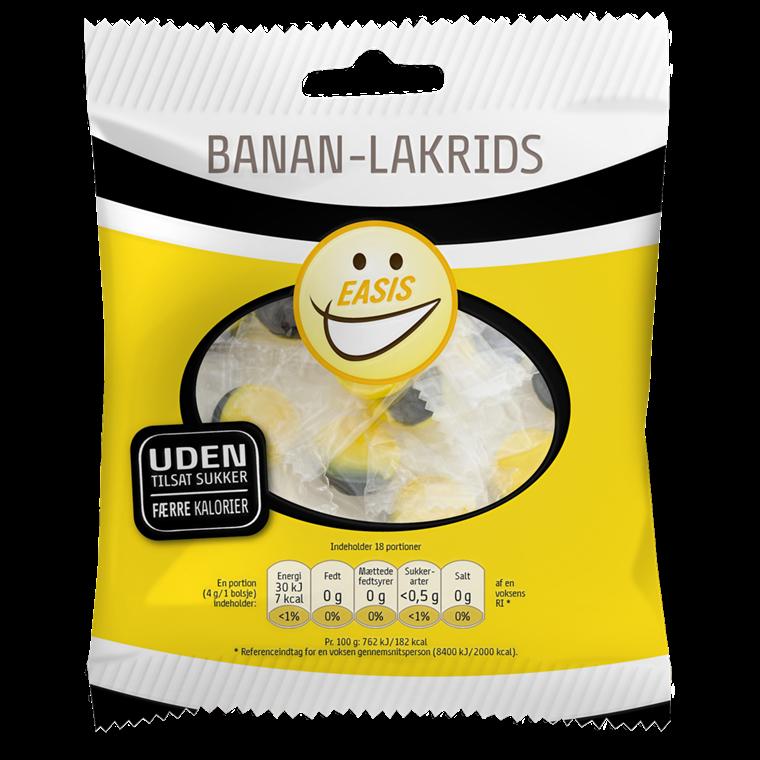 EASIS Banan- og lakrisdrops