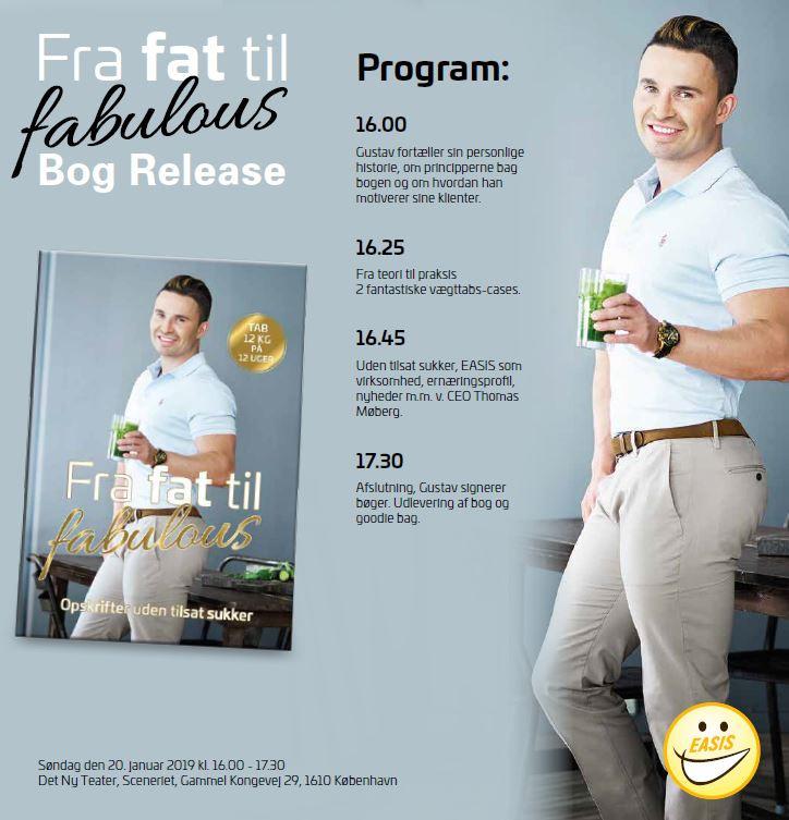 Bog release og foredrag, Fra fat til fabulous