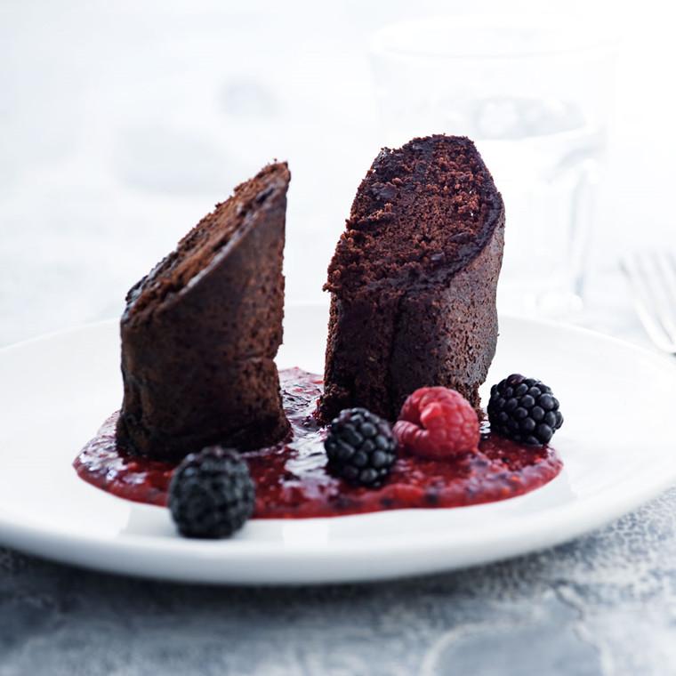 Chokolade-roulade