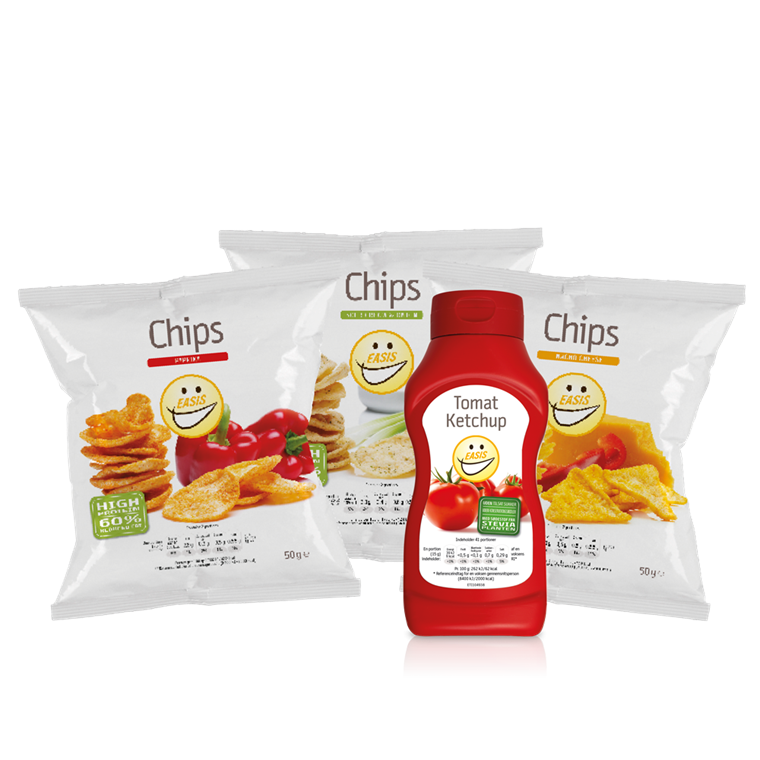 EASIS Bundle - Mix Crisps and Ketchup