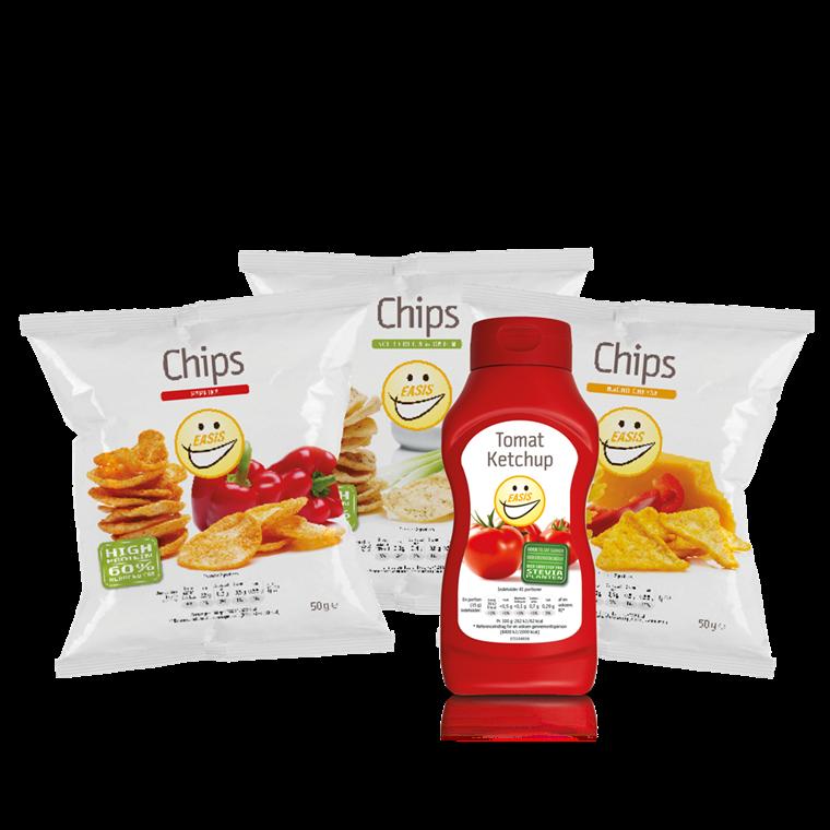 Sampak - Mix Chips & Ketchup