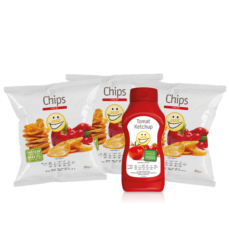 Sampak - Paprika & Ketchup