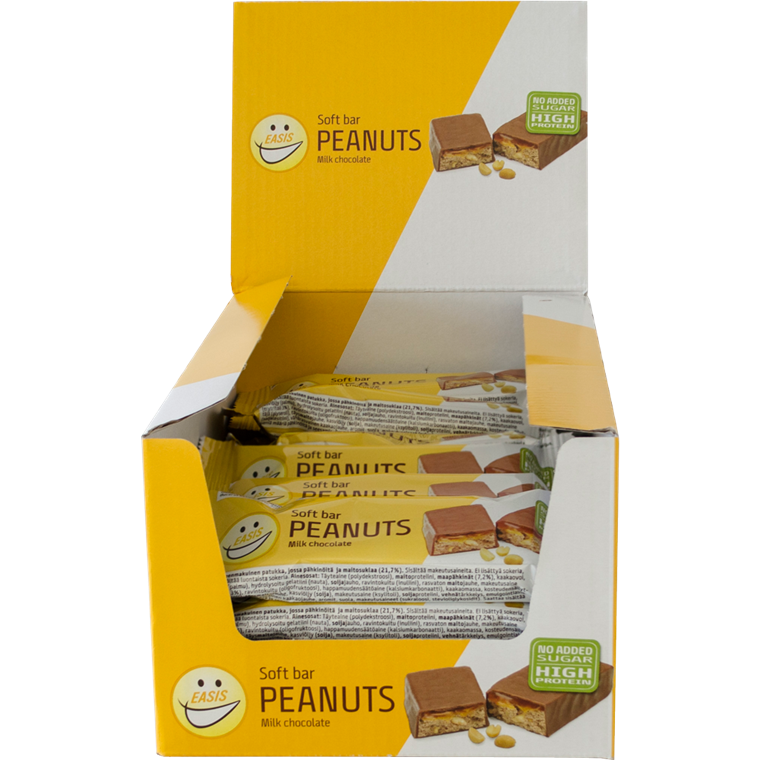 EASIS Soft bar Peanuts 24 stk.