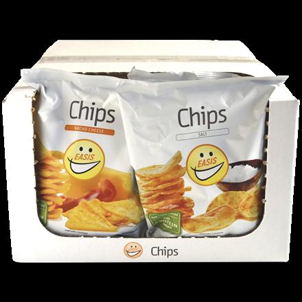 EASIS Crisps Mix Salt & Nacho Cheese 14 x 50g