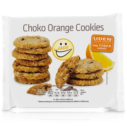 EASIS Choco Cookies with Orange
