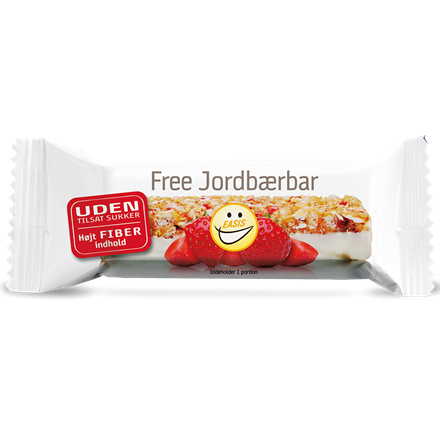 EASIS Free Jordbærbar 20 stk.