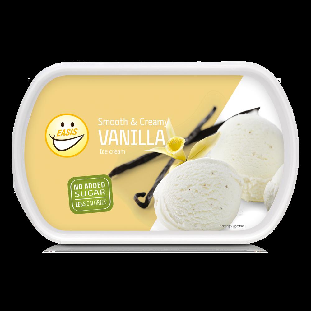 Vaniljeis Med 67 Mindre Fedt Og 57 Færre Kalorier
