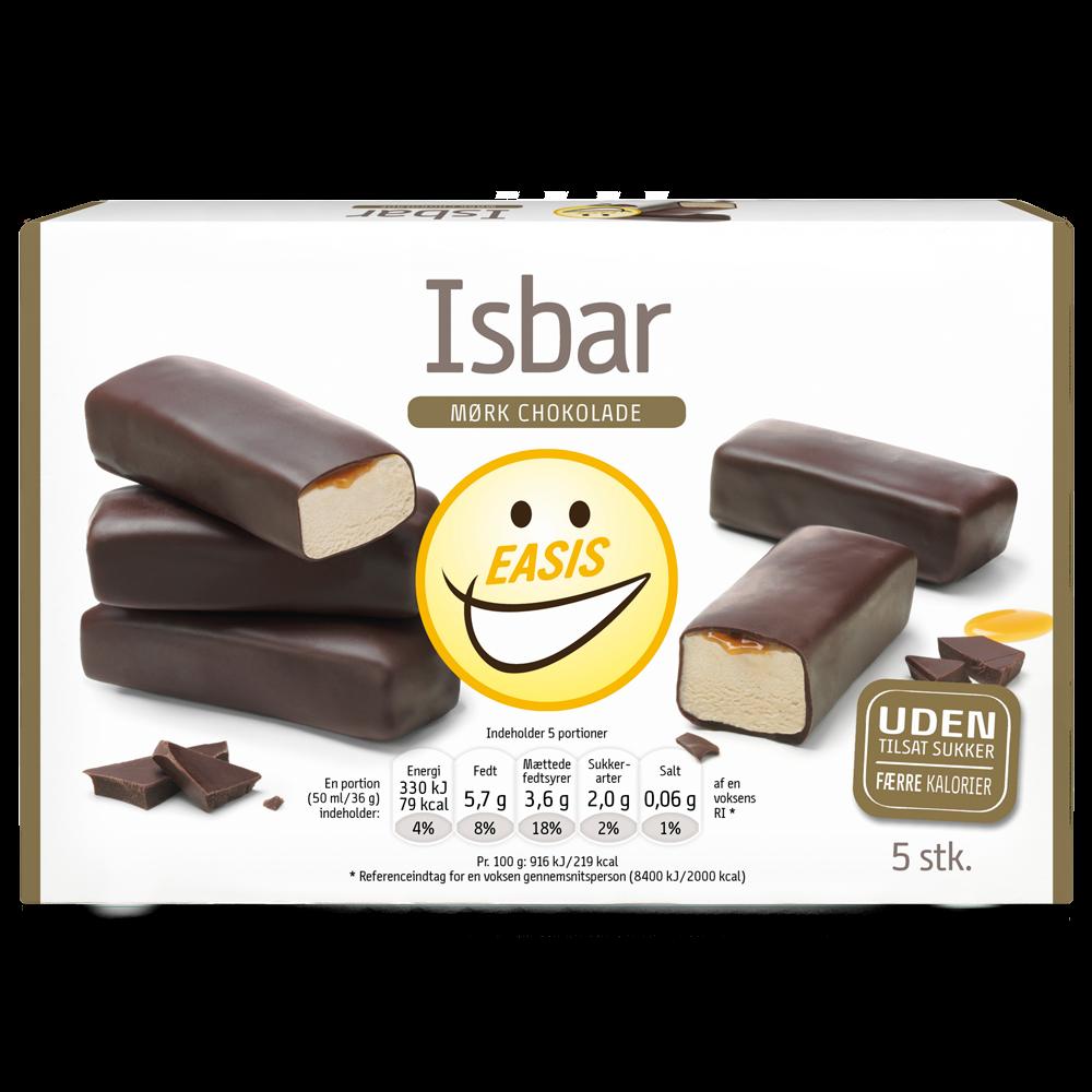 mørk chokolade kalorier