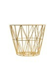 Ferm Living Wirebasket small gul