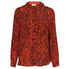 Custommade Zilja silke skjorte i orange