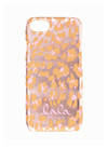 Lala Berlin Lacquer iPhone cover i Leo Pink Metallic