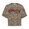 Lala Berlin Viola Leo t-shirt i leopard print