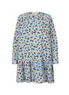 Mads Nørgaard Flower Stripe Pop Decima kjole i mønstret