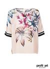 Mos Mosh Palma Fleur t-shirt i rosa
