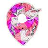 Pom Amsterdam Carriages tørklæde i pink