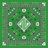 Lala Berlin bandana i grøn