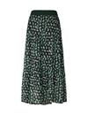 Lollys Laundry Bonny nederdel i grøn